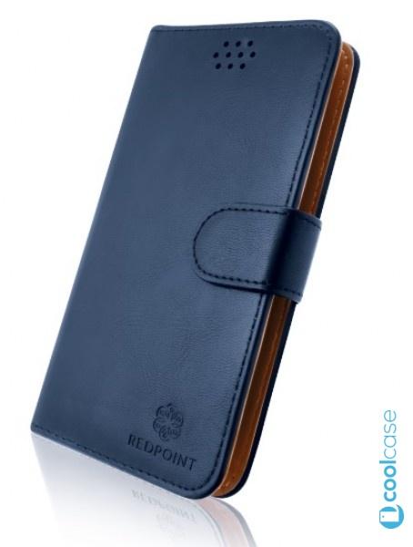 """Univerzální pouzdro RedPoint Book velikost 4XL pro mobily 4,5""""-5,2"""" Modré"""