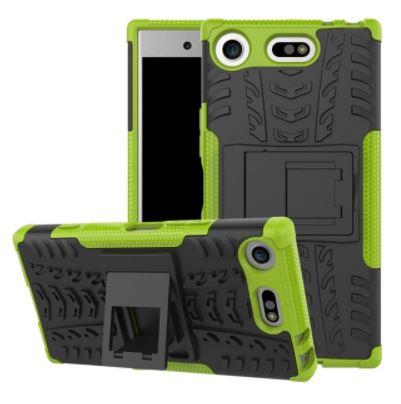Odolné pouzdro PANZER CASE NEO na mobilní telefon Sony Xperia XZ1 Compact Zelené