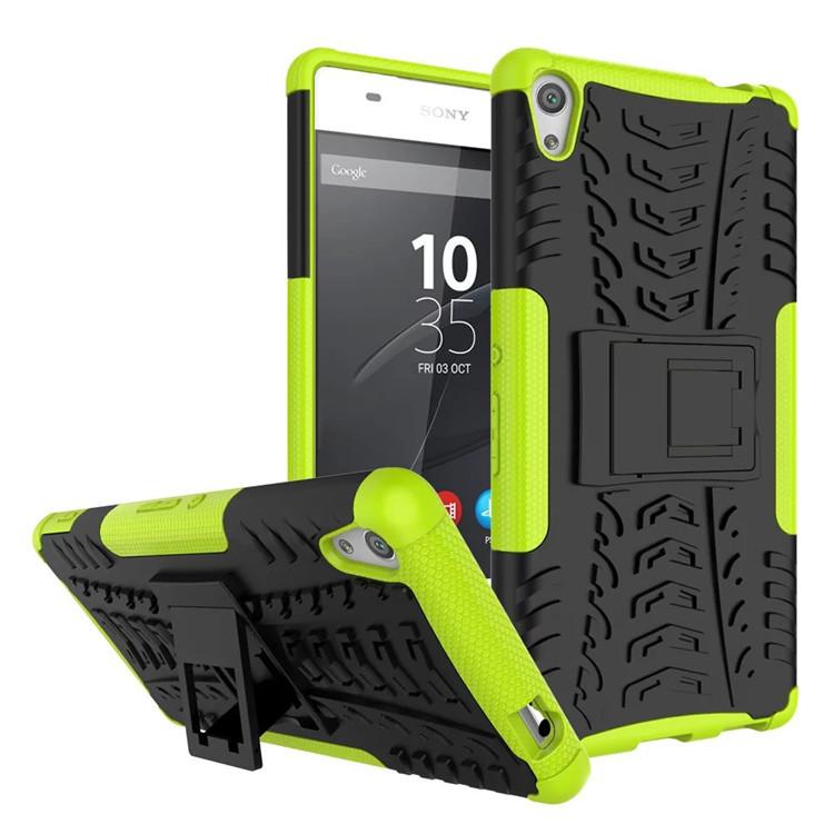 Odolné pouzdro PANZER CASE NEO na mobilní telefon Sony Xperia L1 Zelené