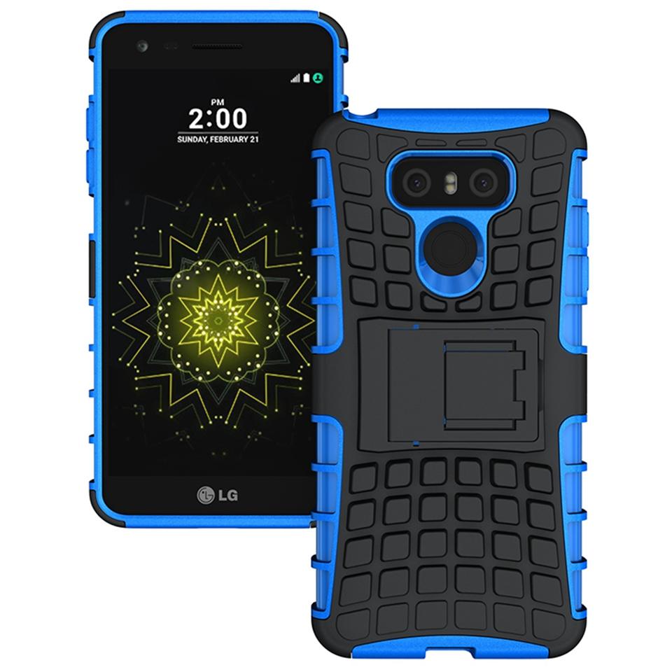 Odolné pouzdro PANZER CASE na mobilní telefon LG G6 Modré