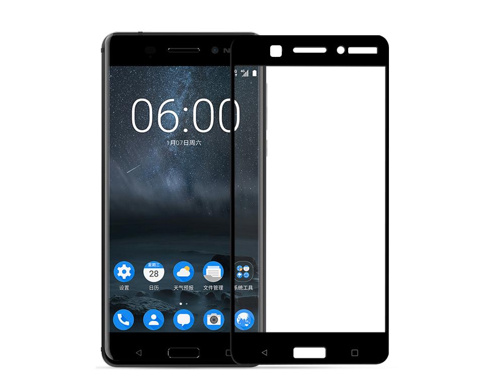 Ochranné tvrzené sklo Aligátor na celý displej Nokia 6 černé ... 2a1effd7d33