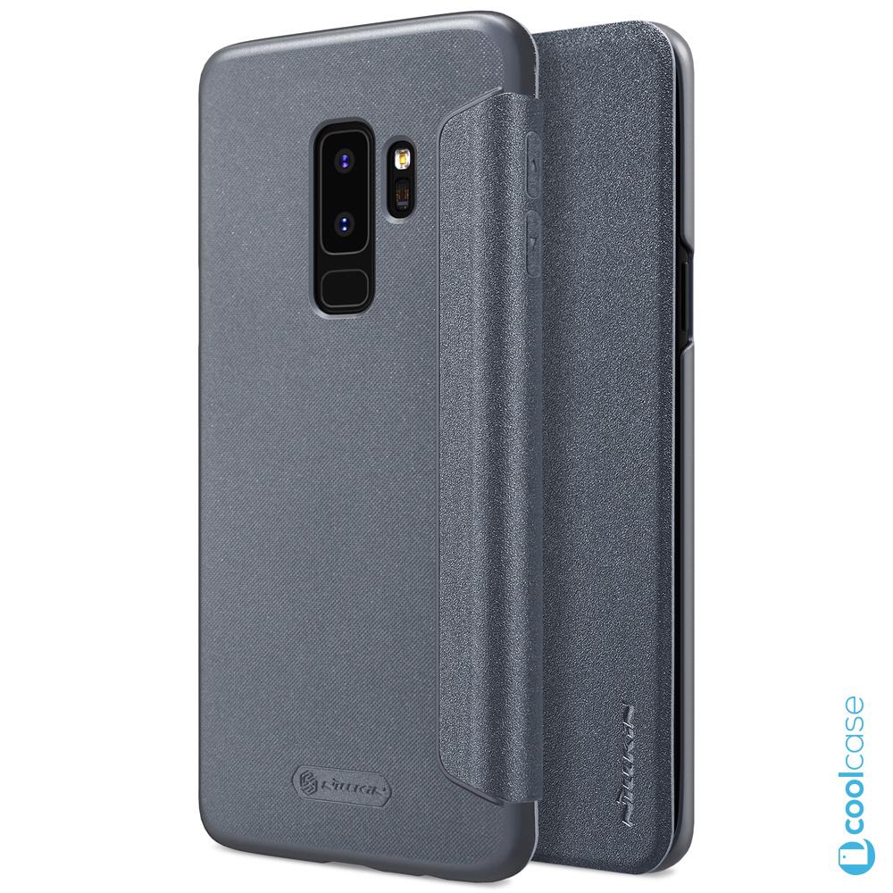 Flipové pouzdro Nillkin Sparkle Folio na mobil Samsung Galaxy S9 Plus šedé 6706b4ae7a