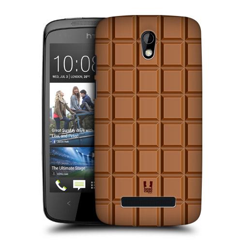 Plastové pouzdro na mobil HTC Desire 500 HEAD CASE ČOKOBAR (Kryt či obal na mobilní telefon HTC Desire 500)