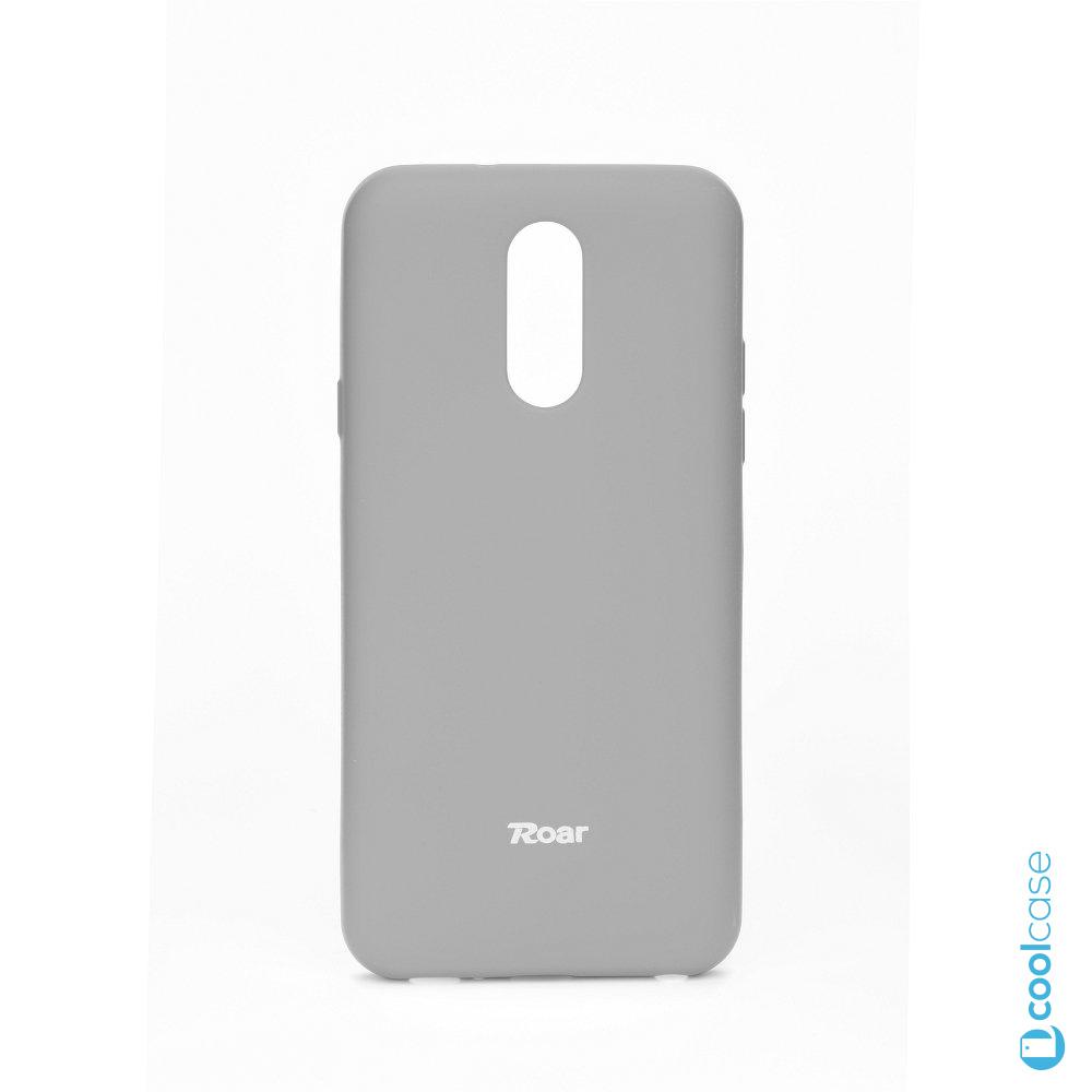 Silikonové pouzdro Roar Jelly na mobil LG Q7 - šedé  e09c91489e