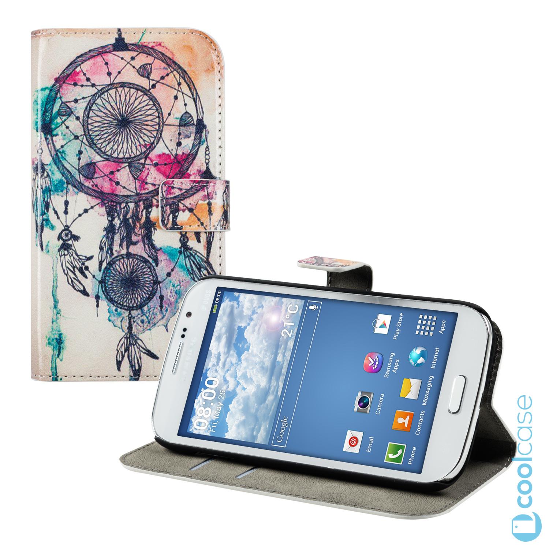 Flipové pouzdro KWmobile Chic Wallet na Samsung Galaxy Grand Neo Plus Lapač Flipové knÅ¾kové vyklápěc