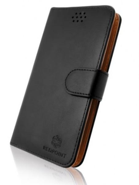 """Univerzální pouzdro RedPoint Book velikost 3XL pro mobily 4""""-4,6"""" Černé (Pouzdro RedPoint Book Universal velikost 3XL 4""""-4,6"""" Černé)"""
