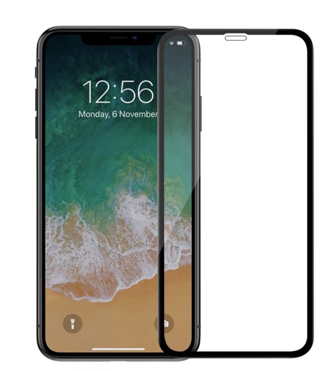 Ochranné tvrzené sklo Full Glue pro Apple iPhone XS Max - 5D - černé ... 0482497c8fe