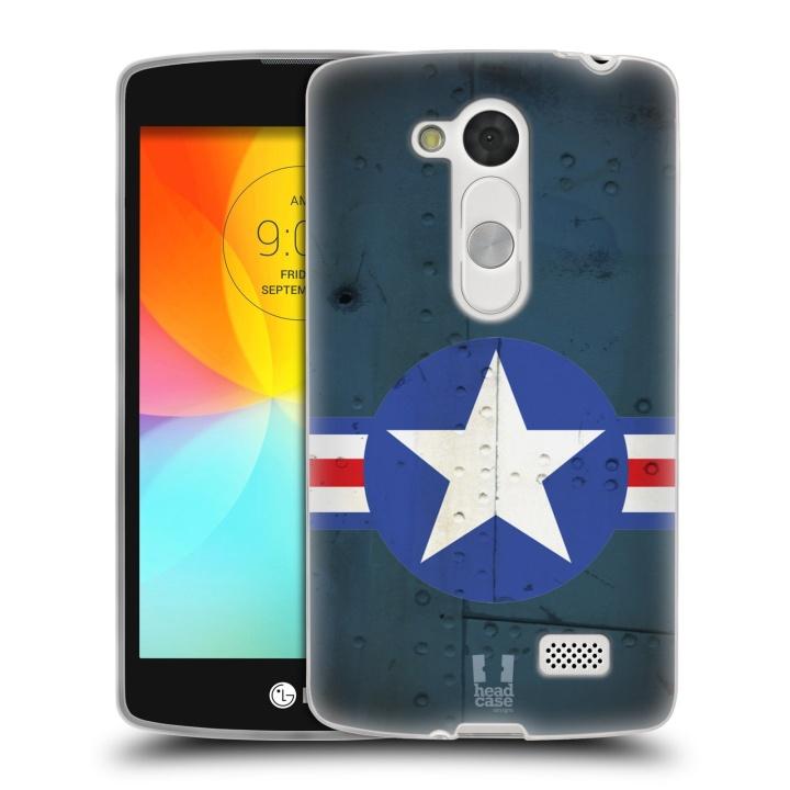 Silikonové pouzdro na mobil LG L Fino HEAD CASE POSTWAR (Silikonový kryt či obal na mobilní telefon LG L Fino a LG L Fino Dual)