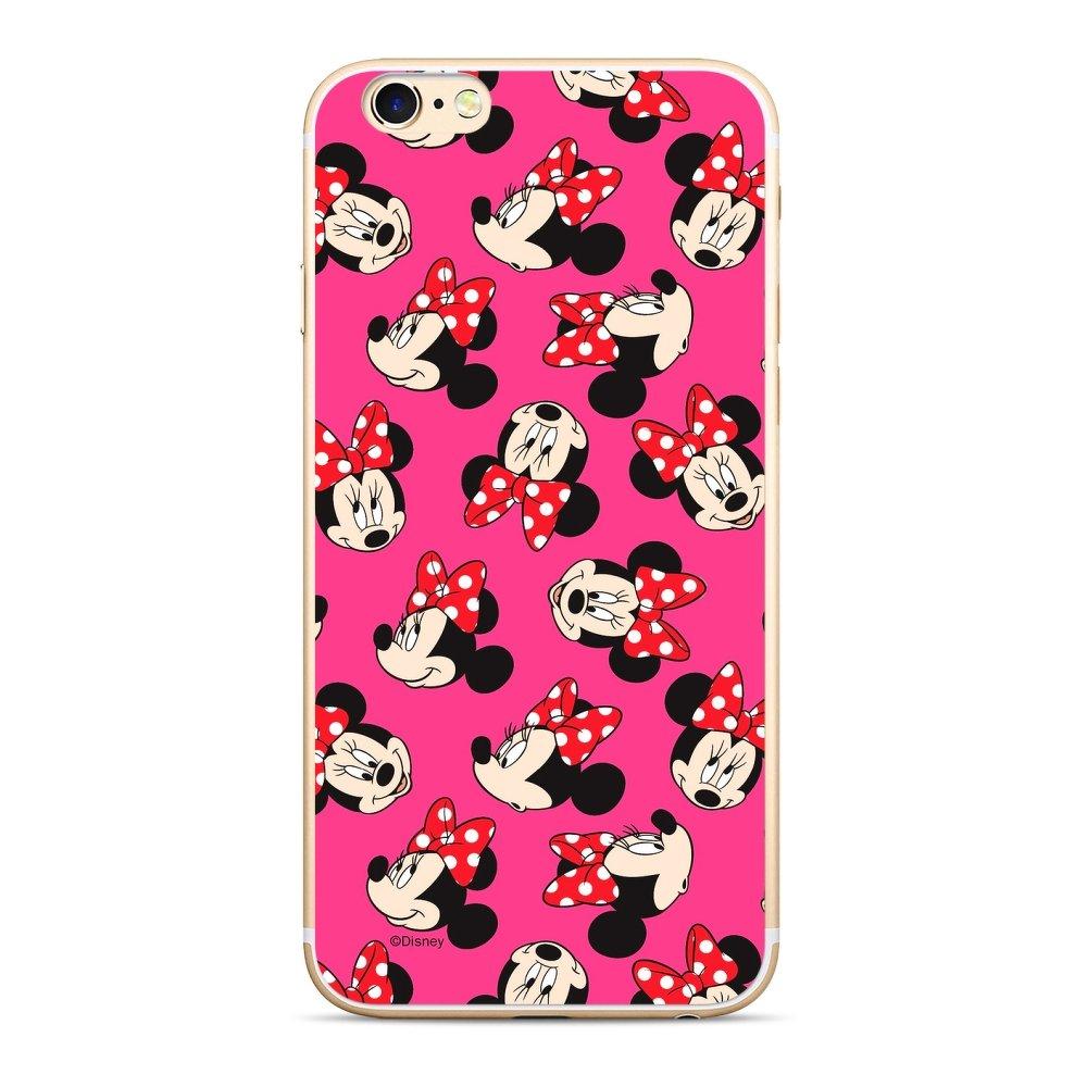 Licencované silikonové pouzdro Disney pro mobil Apple iPhone 5   5S   SE  Minnie Mouse ( fc922dd6212