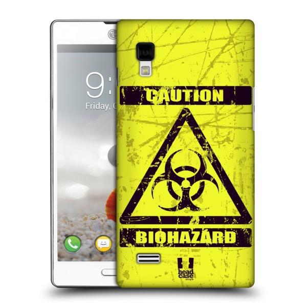 Plastové pouzdro na mobil LG Optimus L9 P760 HEAD CASE BIOHAZARD (Kryt či obal na mobilní telefon LG Optimus L9 P760)