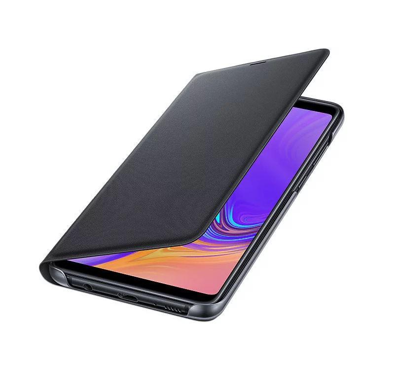 Originální flip pouzdro EF-WA920PBE na mobil Samsung Galaxy A9 (2018) Černé (EF-WA920PBE Samsung Original Flip Case Black pro Galaxy A9 2018 (EU Blister))