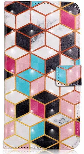Flipové pouzdro COOL BOOK na mobil Samsung Galaxy S7 Geometric (Flip kryt či obal na mobil Samsung Galaxy S7 Geometric)