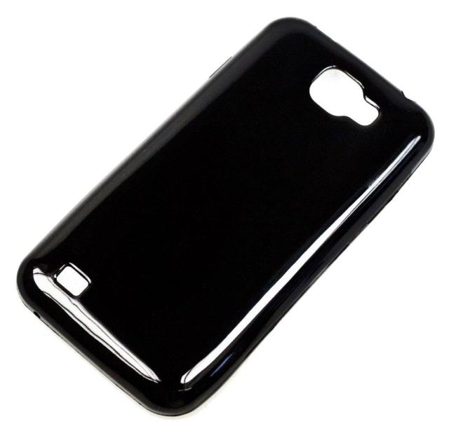 Silikonové pouzdro Aligátor S4500 Super Gel černé (Silikonový kryt či obal na mobil Aligátor S4500 Duo)