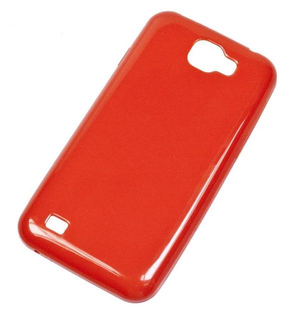 Silikonové pouzdro Aligátor S4500 Super Gel červené (Silikonový kryt či obal na mobil Aligátor S4500 Duo)
