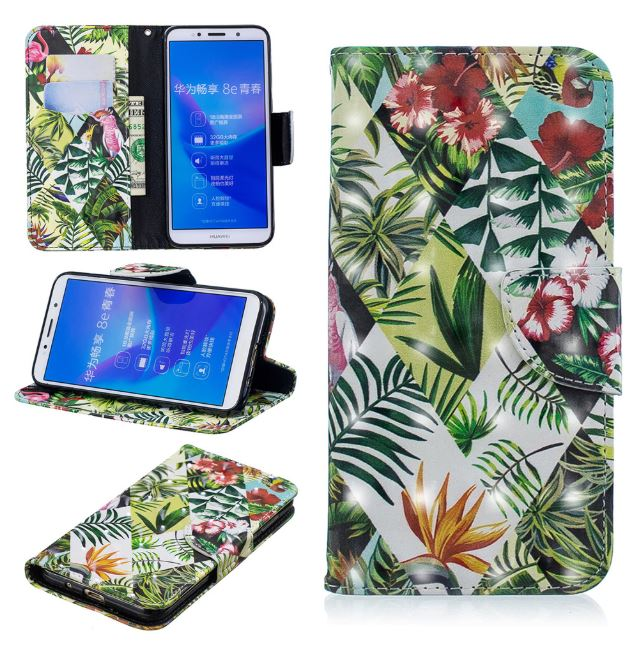 Flipové pouzdro 3D COOL BOOK - Jungle na mobil Huawei Y5 2018   Honor 7S ( a38edf4f4a2