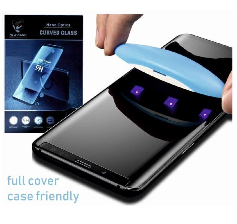 Ochranné tvrzené UV sklo 3D LIQUID pro Samsung Galaxy S7 Edge na celý displej - čiré (EMPEROVANÉ SKLO 3D LIQUID UV SAMSUNG G935F GALAXY S7 EDGE)