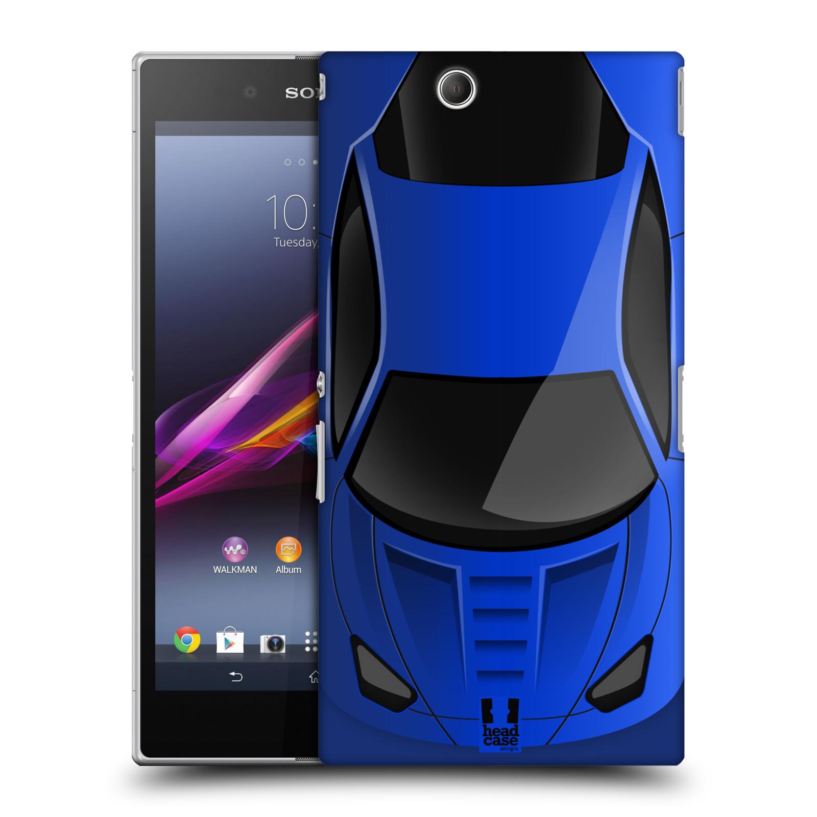 Plastové pouzdro na mobil Sony Xperia Z Ultra C6833 HEAD CASE LAPAČ MODRÉ AUTO (Kryt či obal na mobilní telefon Sony Xperia Z Ultra )
