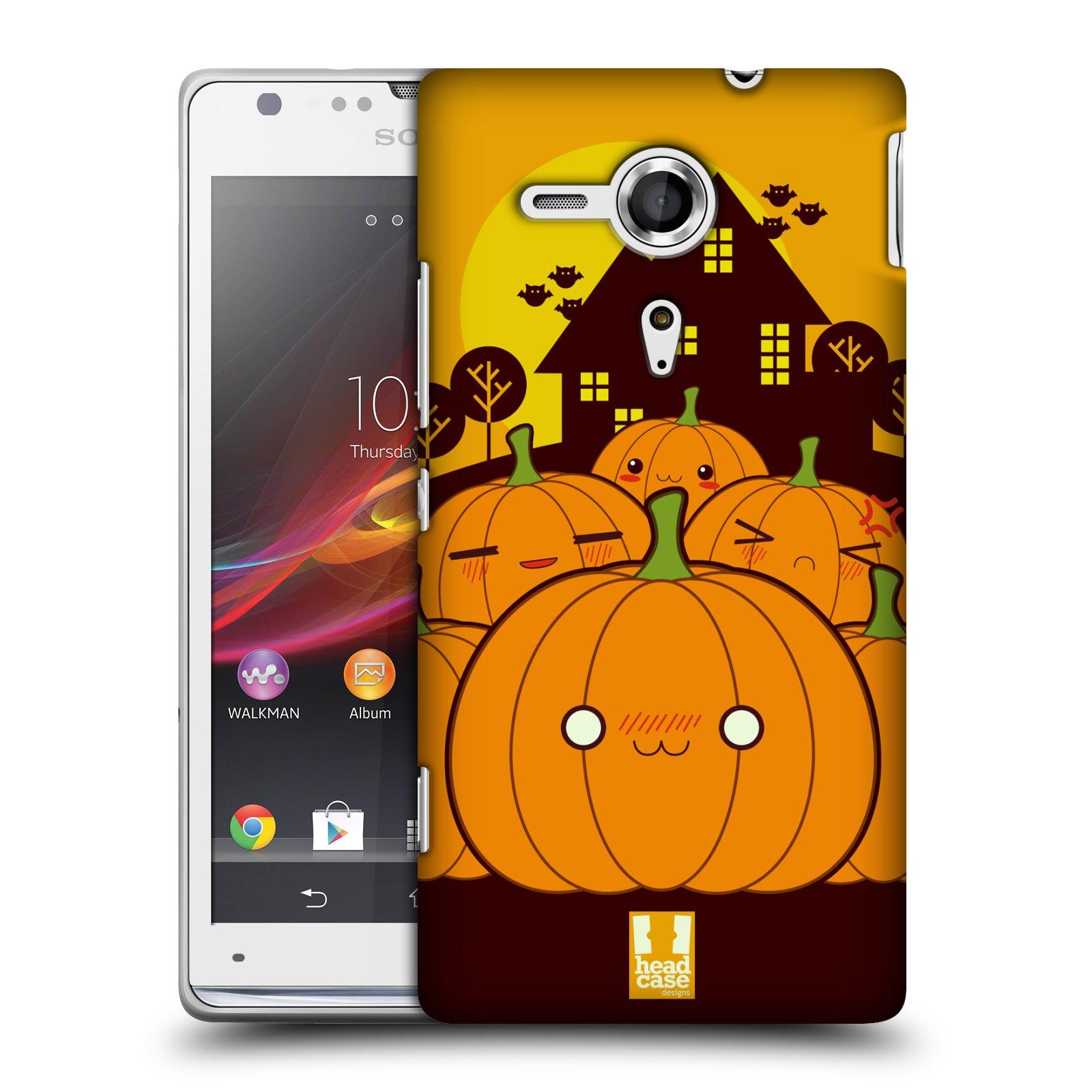 Plastové pouzdro na mobil Sony Xperia SP C5303 HEAD CASE DÝNĚ (Kryt či obal na mobilní telefon Sony Xperia SP )