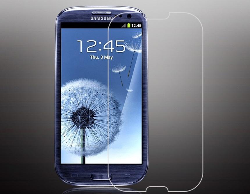 Ochranné tvrzené temperované sklo na displej SAMSUNG GALAXY S III / S3 Neo (Tvrzenné ochranné sklo Samsung Galaxy S III / S3 Neo)
