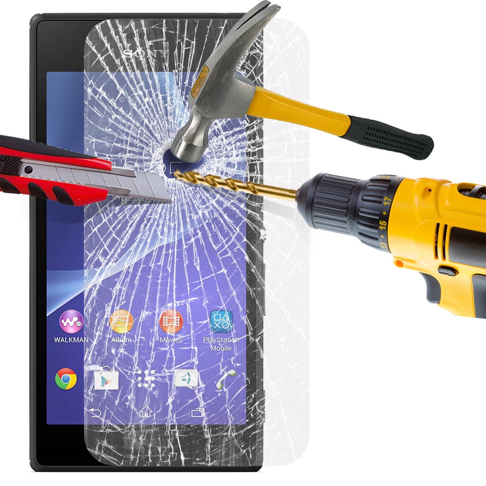 Ochranné tvrzené temperované sklo na Sony Xperia M2 D2303 (přední) (Tvrzenné ochranné sklo Sony Xperia M2)