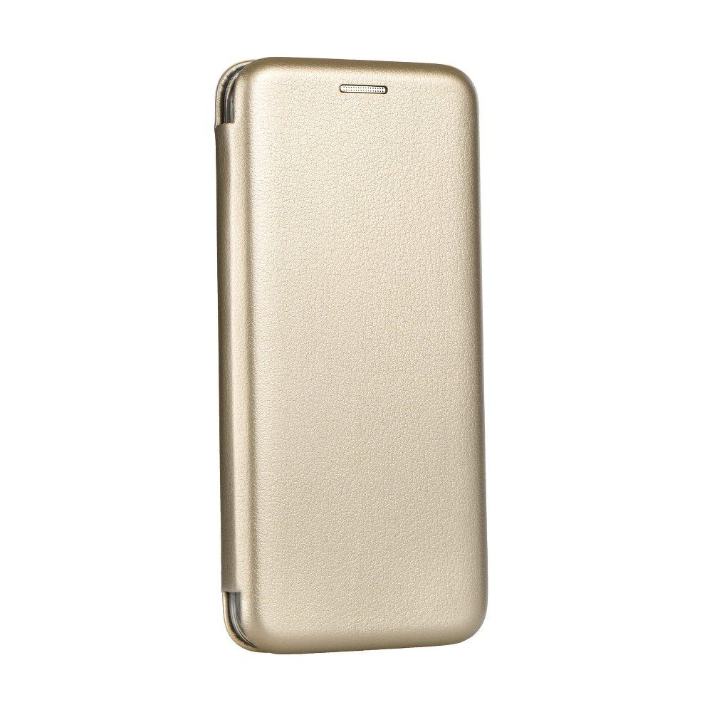Otevírací flipové pouzdro Forcell Elegance na mobil Apple iPhone 11 Zlatavé