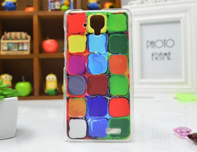 Plastové pouzdro na mobilní telefon Lenovo A536 Dlaždice Barev (Kryt či obal na mobil Lenovo A536 )