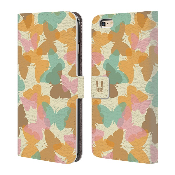 Flipové pouzdro na mobil Apple iPhone 6 Plus a 6S Plus HEAD CASE Translucencies Butterfly