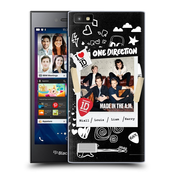 Plastové pouzdro na mobil Blackberry Leap HEAD CASE One Direction - S kytárou