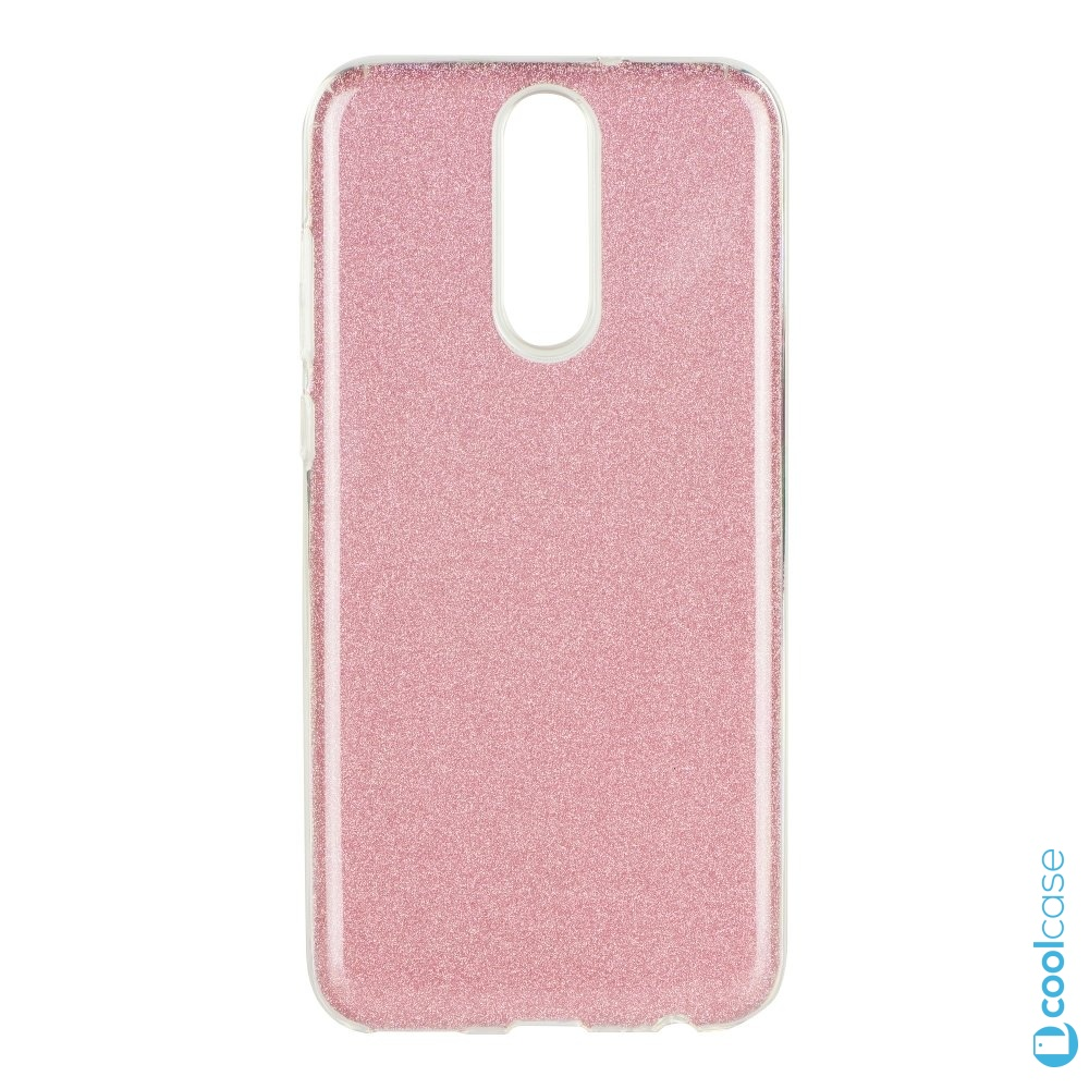 Třpytivé pouzdro Forcell Shining na mobil Huawei Mate 10 Lite Pink