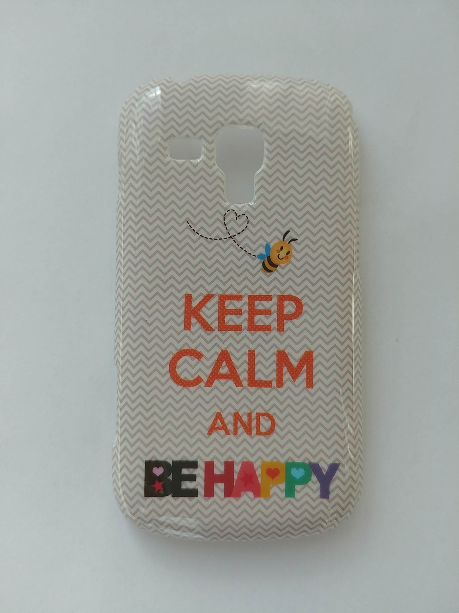 Pouzdro na mobil Samsung Galaxy Trend Plus 4-OK Keep calm