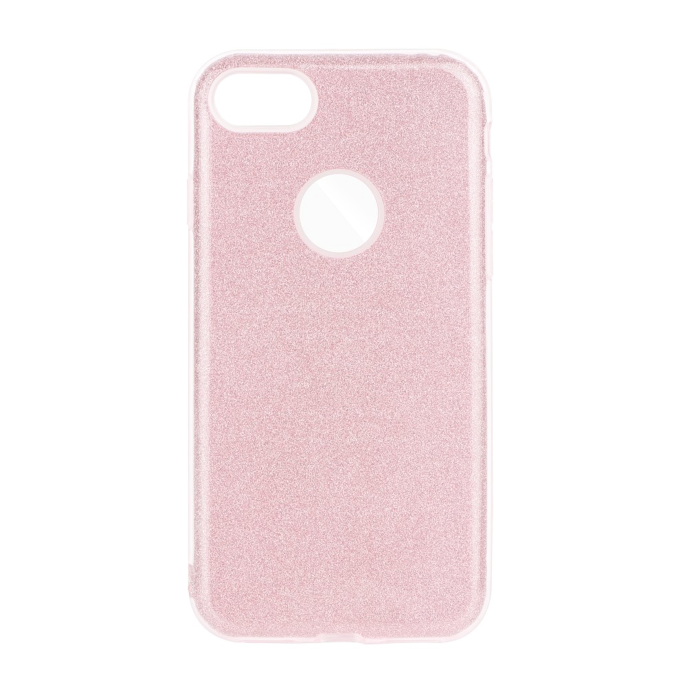 Třpytivé pouzdro Forcell Shining na mobil Apple iPhone 6 / 6S Pink