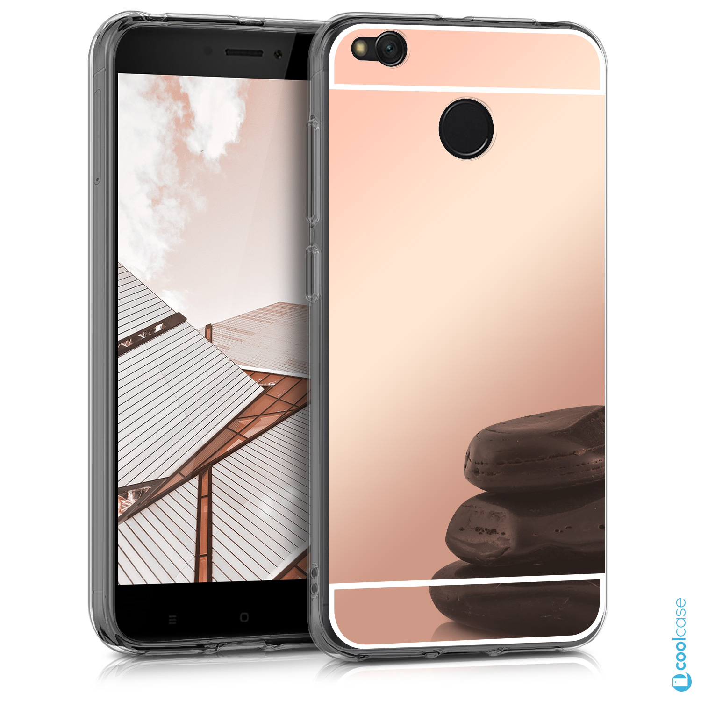Silikonové pouzdro KWmobile Mirror na mobil Xiaomi Redmi 4X Pink empty