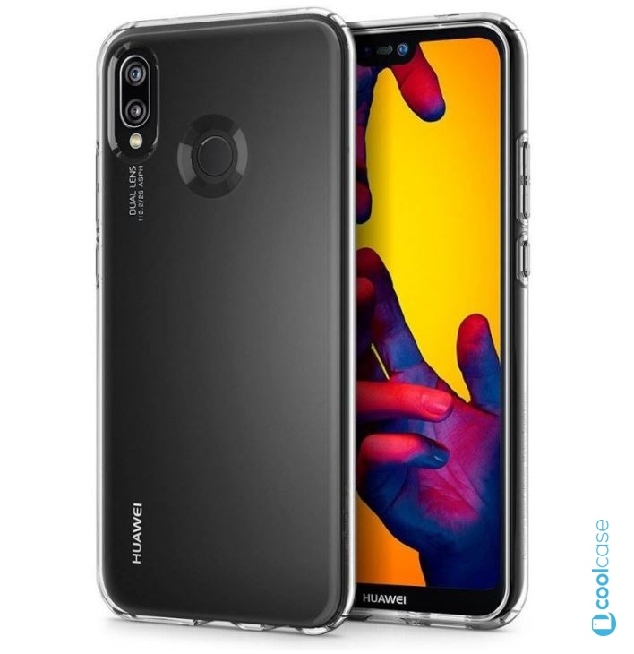 Pouzdro Spigen Liquid Crystal Clear na mobil Huawei P20 Lite