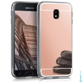 Silikonové pouzdro KWmobile Mirror na mobil Samsung Galaxy J5 (2017) Pink  empty dee4758a581