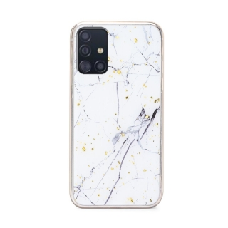Silikonové pouzdro Forcell MARBLE pro mobil Samsung Galaxy S20 Plus - Design 1 - Mramor