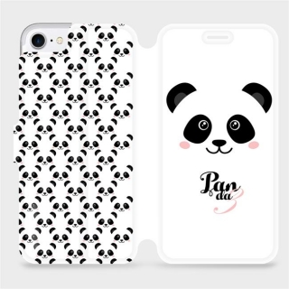 Parádní flip pouzdro Mobiwear - M030P - Panda Pavlík na mobil Apple iPhone 7 / Apple iPhone 8 / Apple iPhone SE 2020