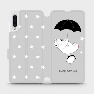 Parádní flip pouzdro Mobiwear na Samsung Galaxy A50 / A30s - MH08P - Always with you