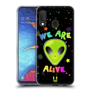 Silikonové pouzdro na mobil Samsung Galaxy A20e - Head Case - WE ARE ALIVE