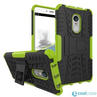 ab74eefe6 Odolné pouzdro PANZER CASE NEO na mobil Xiaomi Redmi Note 4 Global Zelené
