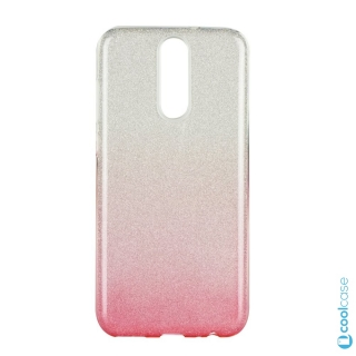 Třpytivé pouzdro Forcell Shining na mobil Huawei Mate 10 Lite Pink Silver