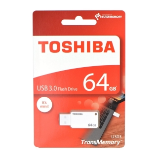 Fleška USB Flash disk Toshiba U303 s kapacitou 64 GB USB 3.0
