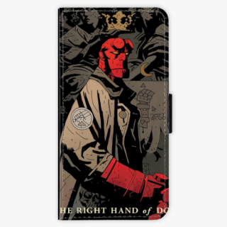 Flipové pouzdro iSaprio na mobil iPhone 8 Plus / iPhone 7 Plus HellBoy