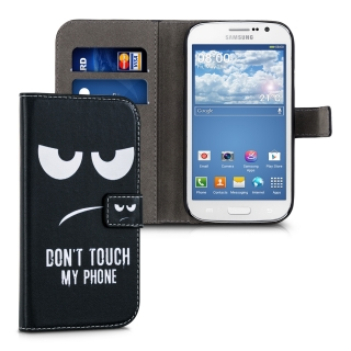 Flipové pouzdro KWmobile Chic Wallet na Samsung Galaxy Grand Neo Plus Don´t touch