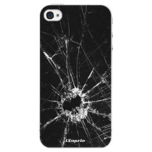 Plastové pouzdro iSaprio Broken Glass 10 na mobil Apple iPhone 4/4S