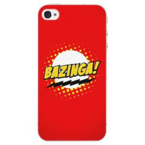 Plastové pouzdro iSaprio Bazinga 01 na mobil Apple iPhone 4/4S - poslední kus za tuto cenu