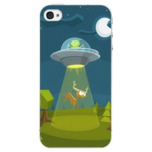 Plastové pouzdro iSaprio Alien 01 na mobil iPhone 4/4S