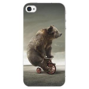 Plastové pouzdro iSaprio Bear 01 na mobil Apple iPhone 4/4S