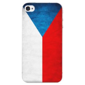 Plastové pouzdro iSaprio Czech Flag na mobil Apple iPhone 4/4S