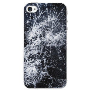 Plastové pouzdro iSaprio Cracked na mobil Apple iPhone 4/4S