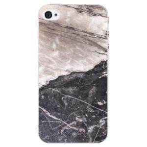 Plastové pouzdro iSaprio BW Marble na mobil Apple iPhone 4/4S